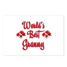 World's Best Granny Postcards (Package of 8)