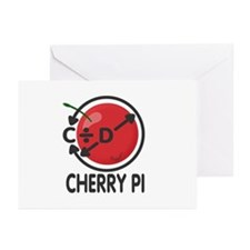 Cherry Pi Greeting Cards (Pk of 20)