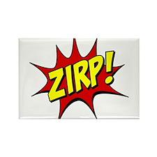 ZIRP! Rectangle Magnet