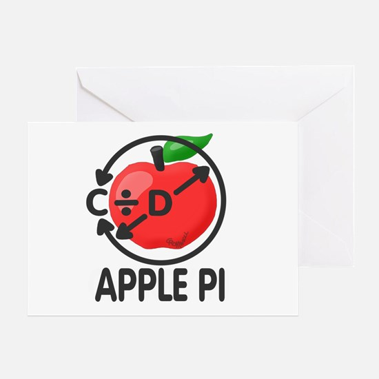 Cherry Pi Greeting Card