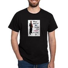 What Part Black T-Shirt
