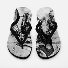 Hell Rider Flip Flops