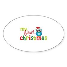 My First Christmas Decal