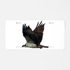 Osprey Aluminum License Plate