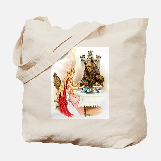 Fairy Tale Collection: Beauty the Beast Tote Bag