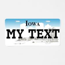 Iowa - current license plate replica