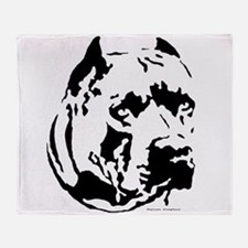 rocky cut out.png Throw Blanket