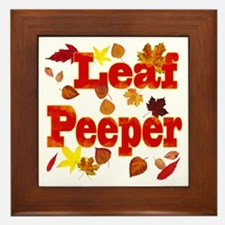 Leaf Peeper Framed Tile