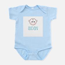 Aidan - Baby Face Infant Creeper