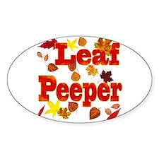 Leaf Peeper Decal