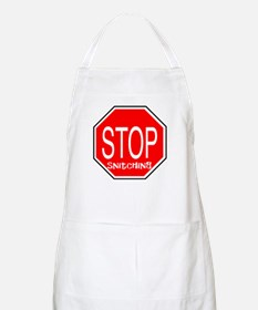 Stop Snitching BBQ Apron