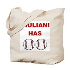 Giuliani Has balls Tote Bag