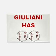 Giuliani Has balls Rectangle Magnet
