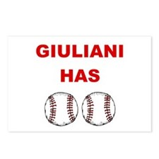 Giuliani Has balls Postcards (Package of 8)