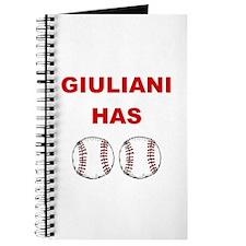 Giuliani Has balls Journal