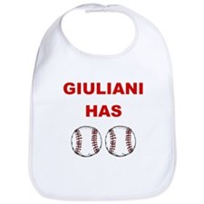 Giuliani Has balls Bib