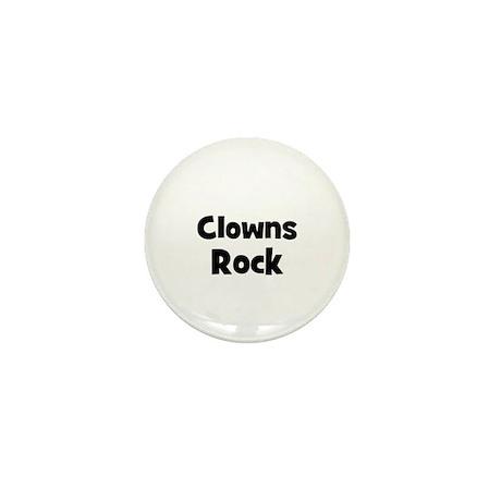 CLOWNS Rock Mini Button