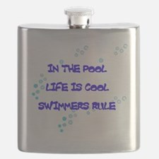 Life Is Cool Flask