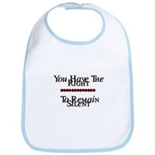 Right To Remain Silent Bib