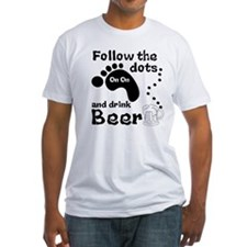 Follow The Dots And Drink Beer Shirt