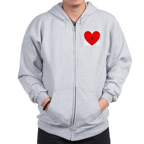 Aaron Craft Love Zip Hoodie