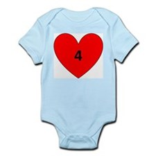 Aaron Craft Love Infant Bodysuit