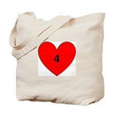 Aaron Craft Love Tote Bag