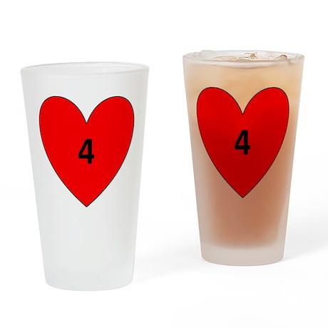 Aaron Craft Love Drinking Glass