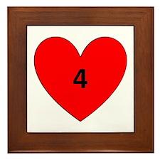 Aaron Craft Love Framed Tile