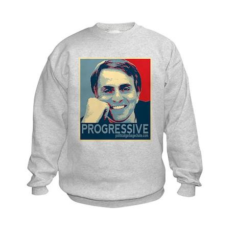 "Sagan - ""PROGRESSIVE"" Kids Sweatshirt"