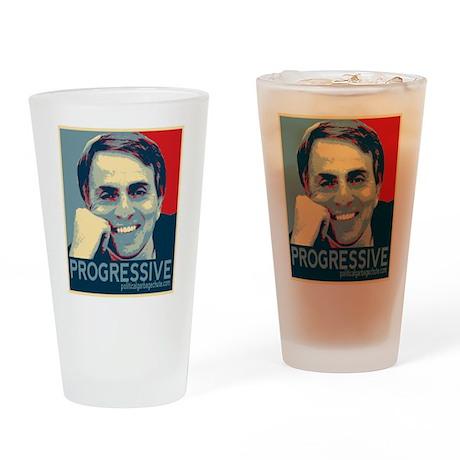 "Sagan - ""PROGRESSIVE"" Drinking Glass"