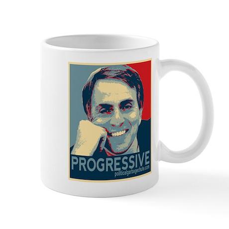"""Sagan - """"PROGRESSIVE"""" Mug"""