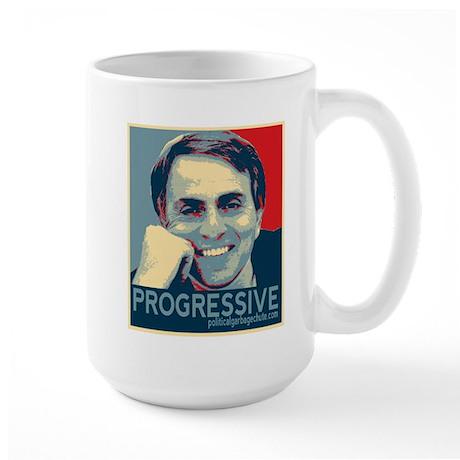 "Sagan - ""PROGRESSIVE"" Large Mug"