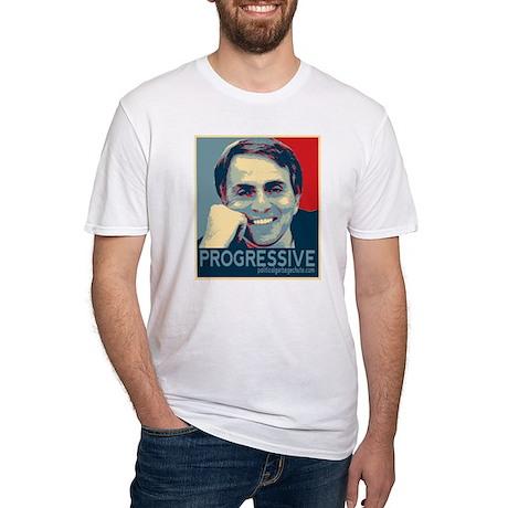 "Sagan - ""PROGRESSIVE"" Fitted T-Shirt"