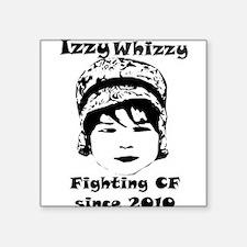 """IzzyWhizzy Square Sticker 3"""" x 3"""""""