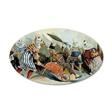 Circus of Clowns Vintage Art Print Wall Decal