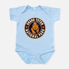 Grand Teton Vintage Circle Infant Bodysuit