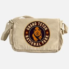 Grand Teton Vintage Circle Messenger Bag