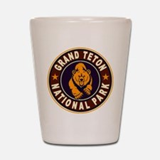 Grand Teton Vintage Circle Shot Glass