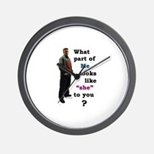 What Part Wall Clock