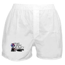 Roller Hockey Rules! Boxer Shorts