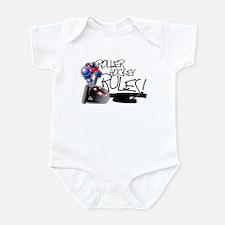 Roller Hockey Rules! Infant Creeper
