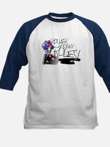 Roller Hockey Rules! Kids Baseball Jersey