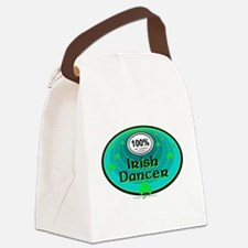 100 PERCENT IRISH DANCER Canvas Lunch Bag