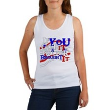 Red, White and Blue Women's Tank Top