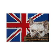 """French Bulldog"" Rectangle Magnet"