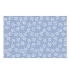 Snow Pattern Postcards (Package of 8)