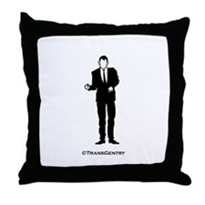 TransGent Throw Pillow