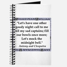 Lets Have One Other Gaudy Night Journal