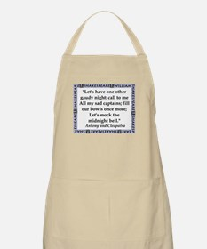 Lets Have One Other Gaudy Night Light Apron